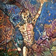 Aztec Cosmogony Art Print