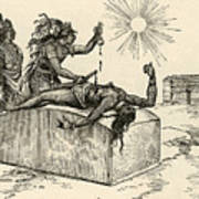 Резултат с изображение за sacrificios de los aztecas