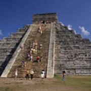 Aztec Pyramid Near Mexico City Art Print