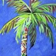 Azul Palm Art Print