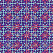 Azulejos Magic Pattern - 07 Art Print