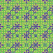 Azulejos Magic Pattern - 08 Art Print