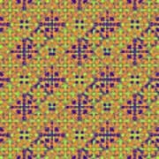 Azulejos Magic Pattern - 09 Art Print