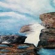 Azure Window - After Art Print