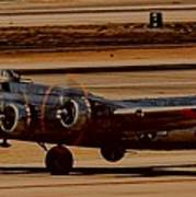 B-17 Bomber Art Print
