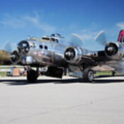 B-17 Flying Fortress, Yankee Lady Art Print