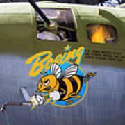 B-17 Restored Art Print