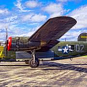 B-24 Liberator Art Print