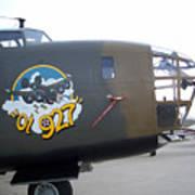 B-24 Nose Art Art Print