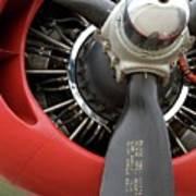 B-24 Prop Detail Art Print