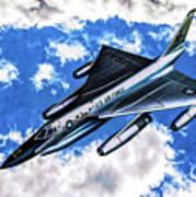 B-58 Hustler - Oil Art Print