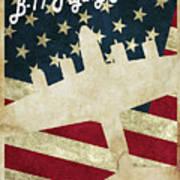 B17 Flying Fortress Vintage Art Print