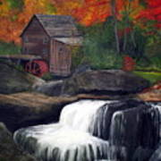 Babcock Mill Art Print