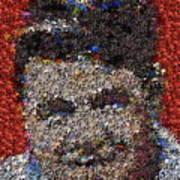 Babr Ruth Puzzle Piece Mosaic Art Print