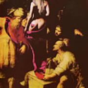 Babs In Babylon Art Print