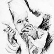 Baby Concern Art Print