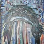 Baby Crow11 Art Print