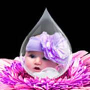 Baby Dewdrop Art Print