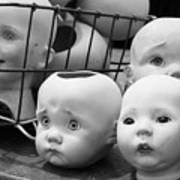 Baby Heads, No.1  Art Print