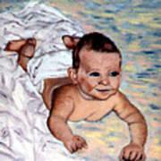 Baby in Heaven Art Print