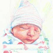 Baby James Art Print