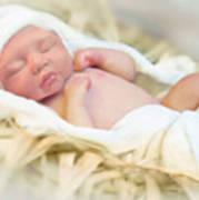 Baby Jesus Art Print