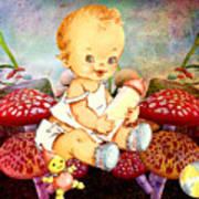 Baby Magic Art Print