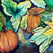 Baby Pumpkins Art Print