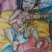 Baby Series Art Print