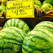 Baby Watermelons Art Print