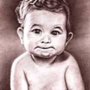 Babyface Art Print