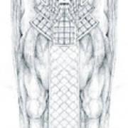 Babylonian Sphinx Lamassu Art Print