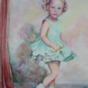 Baby's Debut Art Print