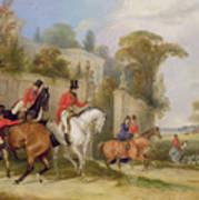 Bachelor's Hall - The Meet Print by Francis Calcraft Turner