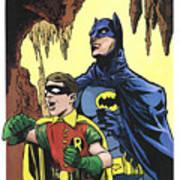 Back In The Batcave Art Print