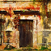 Back Lot By Darian Day Art Print by Mexicolors Art Photography