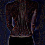 Back Of Beads Art Print
