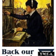Back Our Girls Over There Print by War Is Hell Store