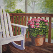 Back Porch Art Print