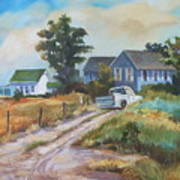 Back Road By The Bay Art Print