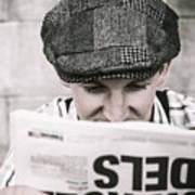 Back When News Was True Art Print