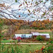 Backcountry Farm Art Print