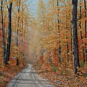 Backroads Art Print