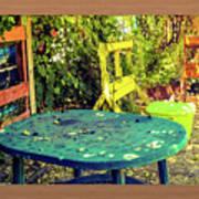 Backyard Summer Art Print