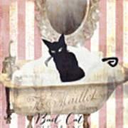 Bad Cat I Art Print