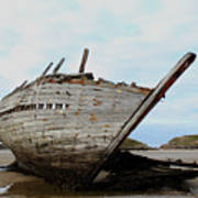 Bad Eddie's Boat Donegal Ireland Art Print