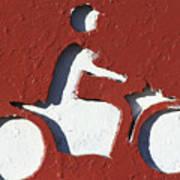 Bad Motor Scooter Art Print