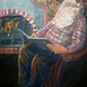 Bad Rudolph Art Print