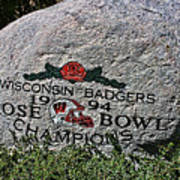 Badgers Rose Bowl Win 1994 Art Print
