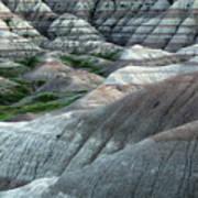 Badlands National Park South Dakota 2 Art Print